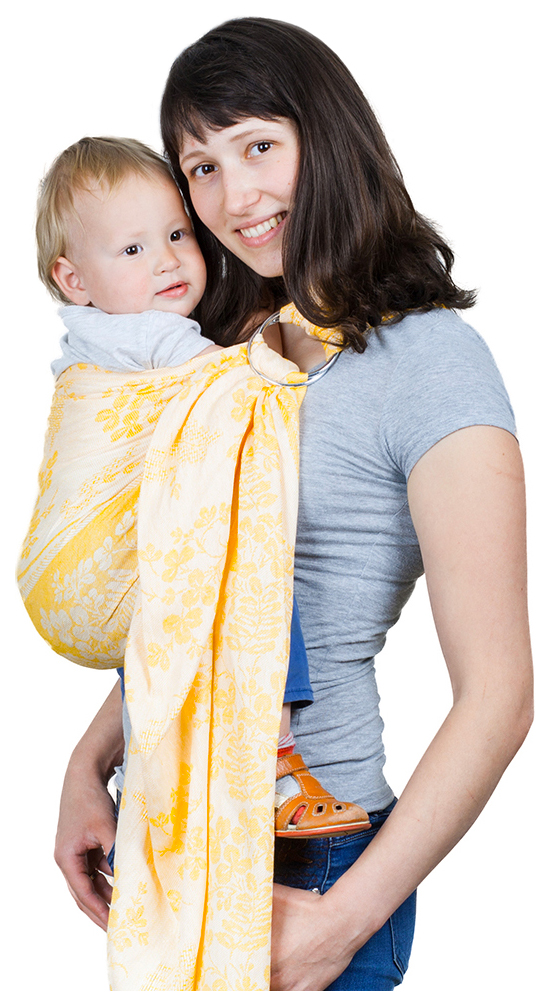 Купить Слинг Чудо-Чадо Герба Рыжий СКЛ01-001, Слинги для новорожденного