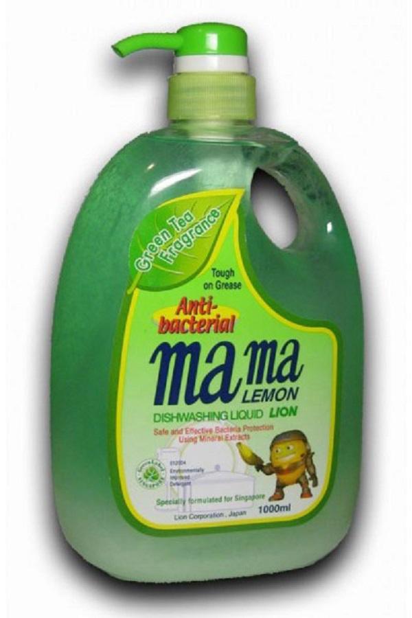 Средство для мытья посуды Mama Lemon green tea 1 л