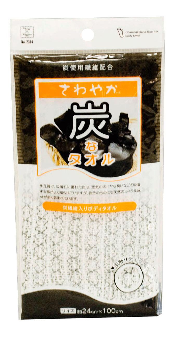 Мочалка для тела Kokubo Массажная с древесным
