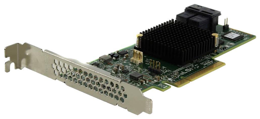 Контроллер LSI SAS 9341 8I SGL LSI00407