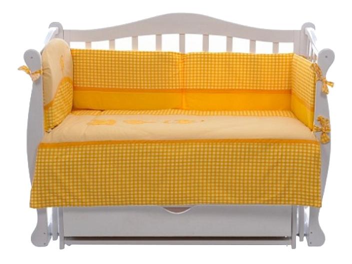 Купить Комплект NINO MORADA 6BB yellow, Комплект детского постельного белья NINO Morada 6BB yellow,