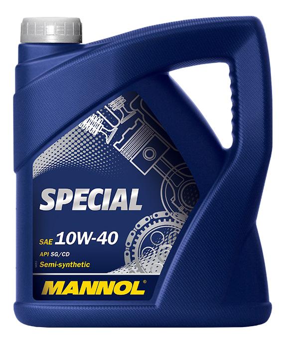 Моторное масло Mannol Spesial 10W-40 4л