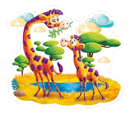 Пазл Castorland Животные Африки
