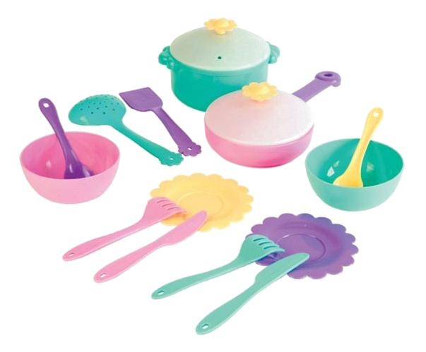 Купить Набор посуды игрушечный Бабочка 39320, Набор посуды игрушечный Mary Poppins Бабочка 39320, ИП Суслов А.И., Игрушечная посуда