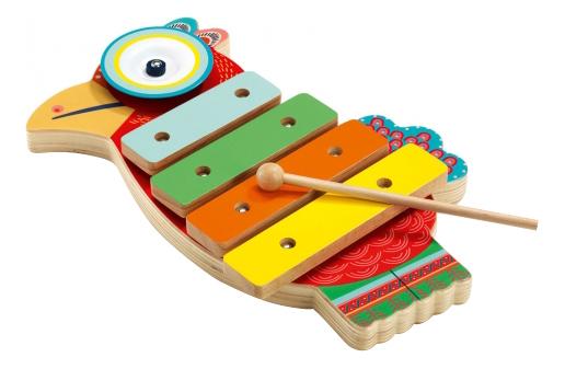 Ксилофон игрушечный Djeco Петушок фото