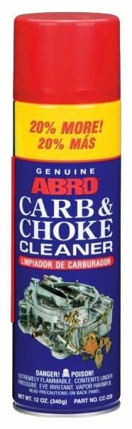 Очиститель карбюратора ABRO 340мл CC 220
