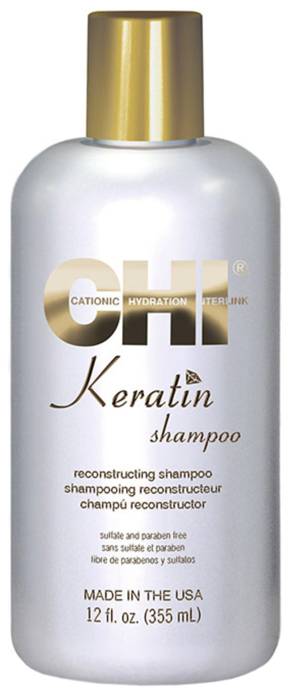 Шампунь CHI Keratin Shampoo 355 мл