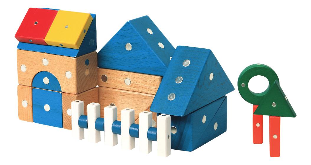 Конструктор магнитный Genii Creation Дом, Магнитные конструкторы  - купить со скидкой