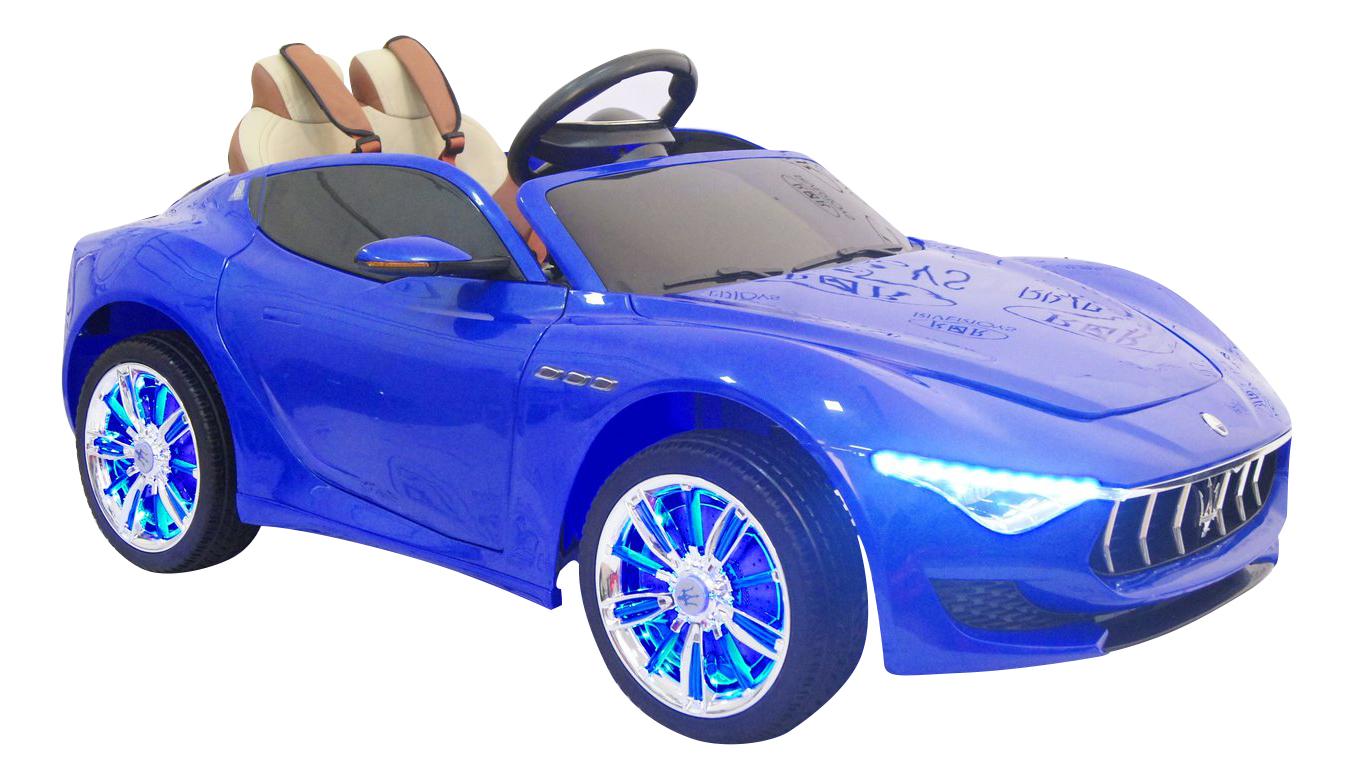 Электромобиль Maserati синий RIVERTOYS