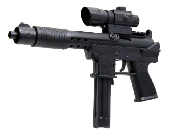 Купить Механический автомат, Автомат лазерный прицел Shantou Gepai ES2142-307D, Стрелковое игрушечное оружие