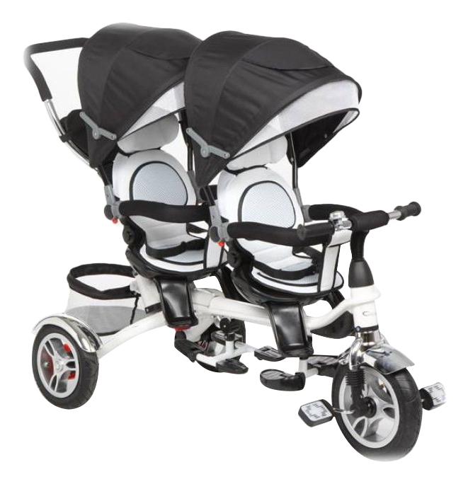 Купить Twin Trike 360 для двойни, Велосипед трехколесный Capella для двойни Twin trike 360 Graphite, Детские трехколесные велосипеды