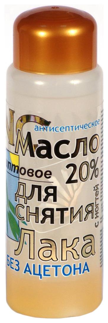 Жидкость для снятия лака DNC Масло эвкалиптовое без ацетона 100 мл