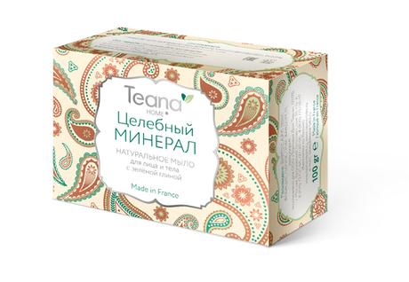 Мыло Teana Целебный минерал, 100 г