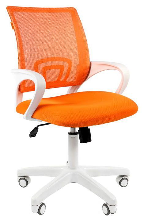 Компьютерное кресло CHAIRMAN 00-07014838, оранжевый