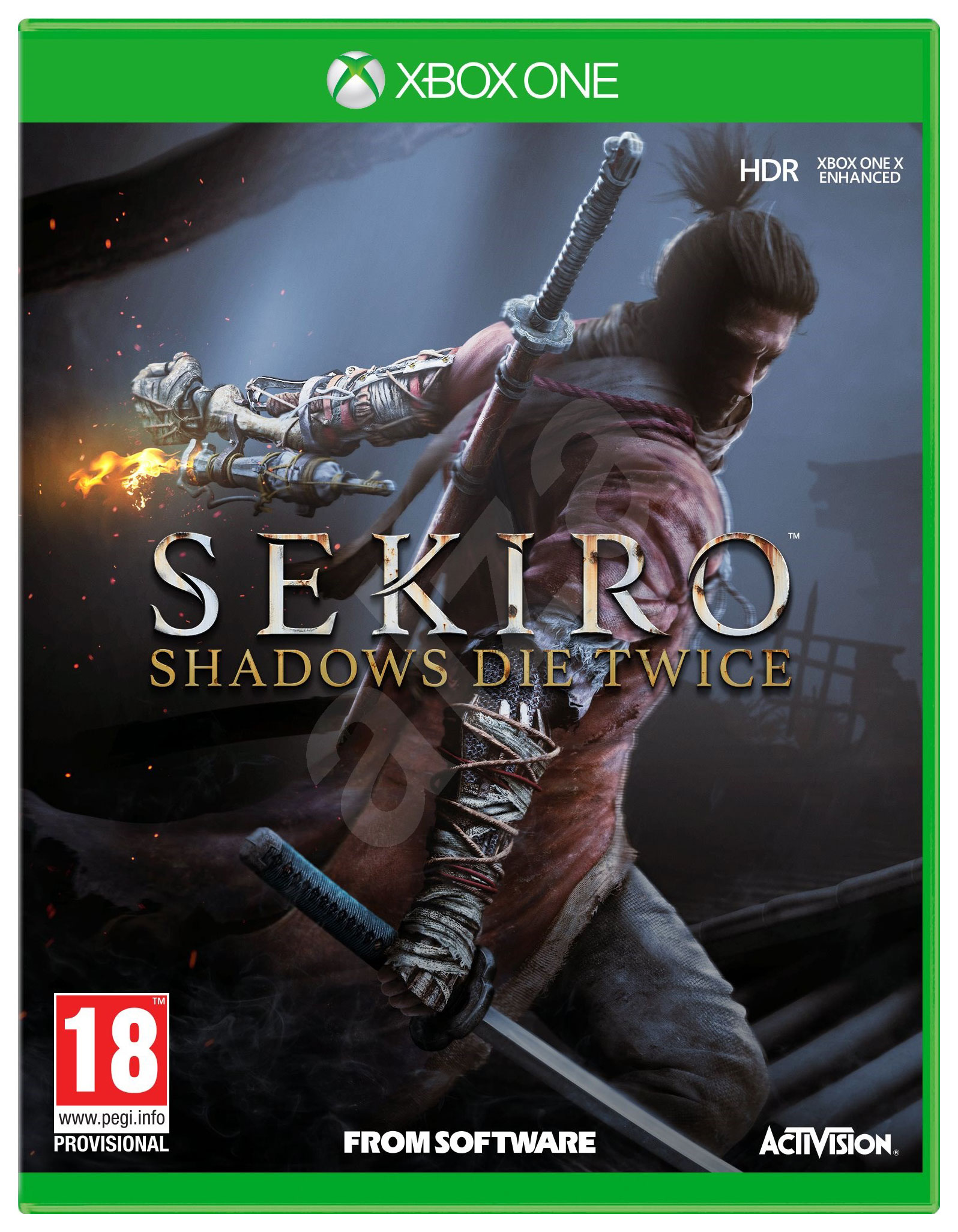 Игра Sekiro: Shadows Die Twice для Xbox