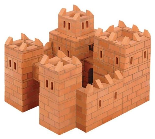 Конструктор для малышей BrickMaster Кирпичики Замок 512 деталей.