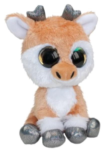 Купить Мягкая игрушка Tactic Оленёнок Vasa, светло-коричневый, 15 см, Мягкие игрушки животные