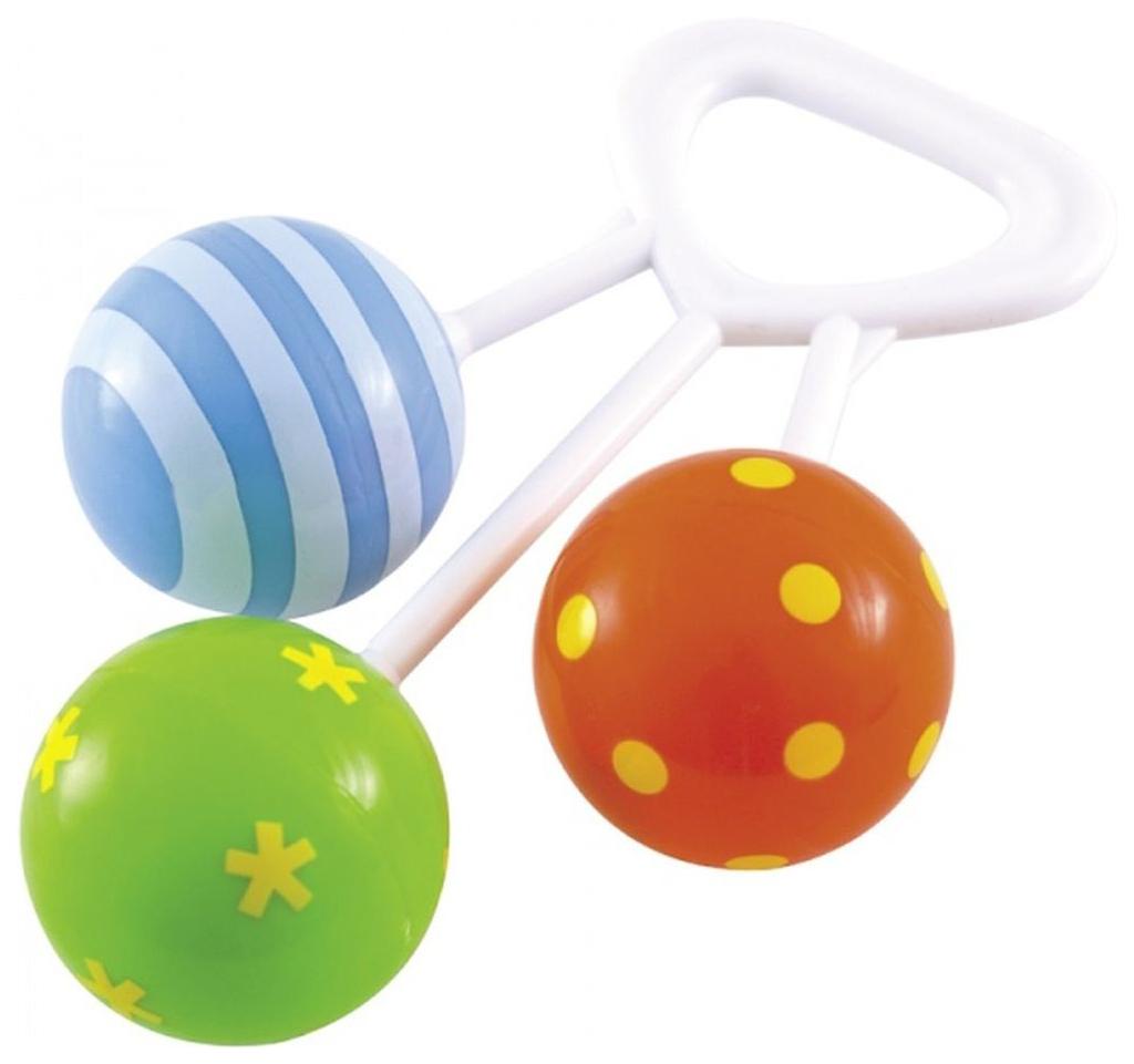 Купить Развивающая игрушка Canpol babies Погремушка три шара 2/664, Погремушки