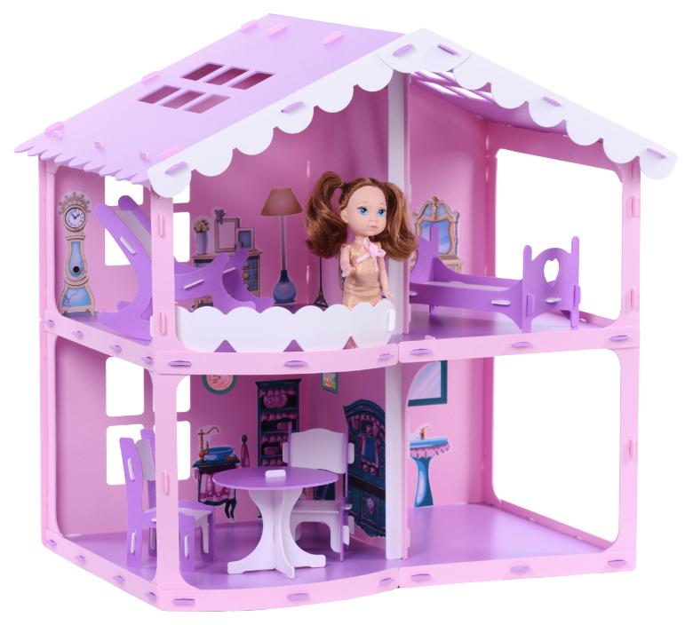 Загородный дом Анжелика с мебелью 000255 Krasatoys
