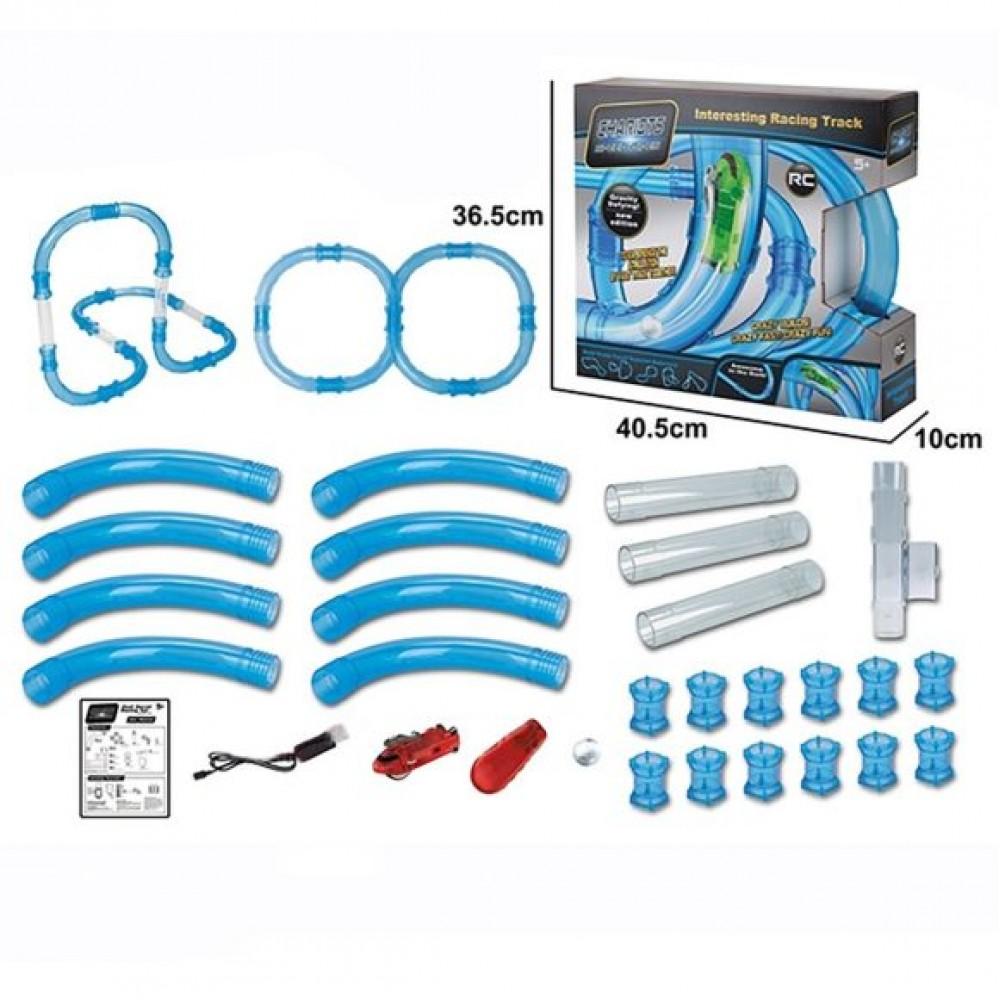 Купить Автотрек Наша игрушка Скоростной тоннель предметов 33, Детские автотреки