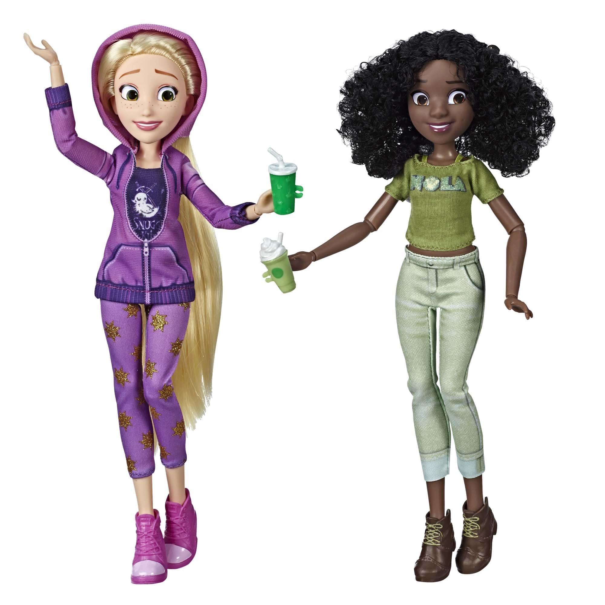 Купить Куклы Disney Princess Рапунцель и Тиана - Ральф против интернета E7418,