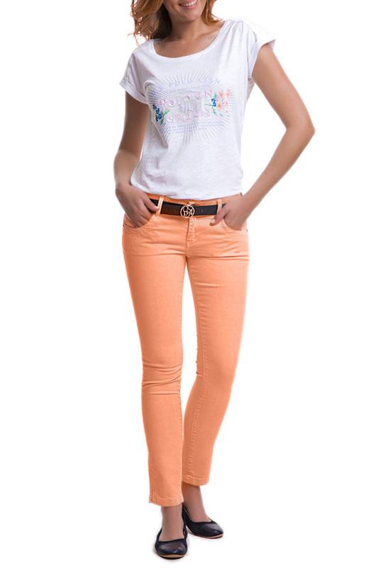 Джинсы женские U.S. Polo Assn. G082CS080M02I3097 583 оранжевые 44 RU