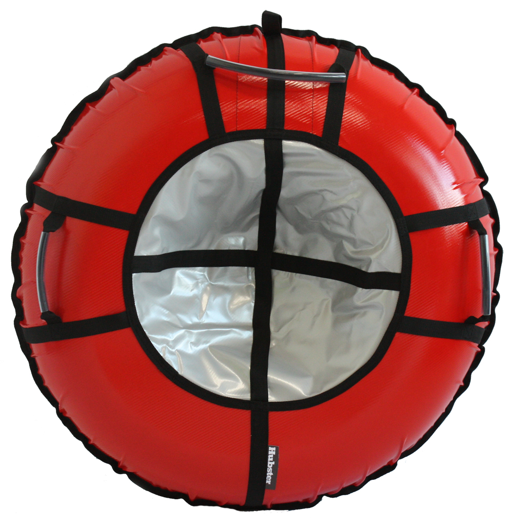 Тюбинг Hubster Ринг Pro красный-серебро 100 см