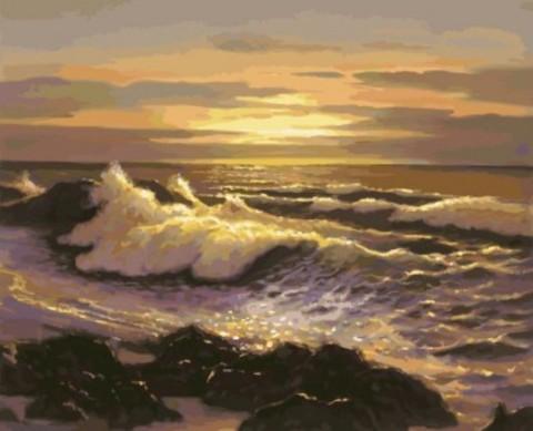 """Набор для рисования """"Океанский прибой"""""""