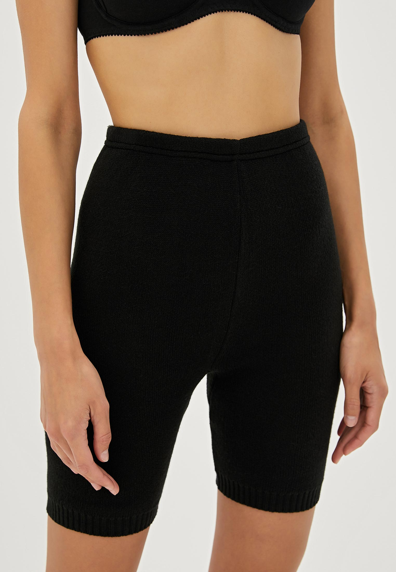 Панталоны женские НОВОЕ ВРЕМЯ T037 черные 56 RU