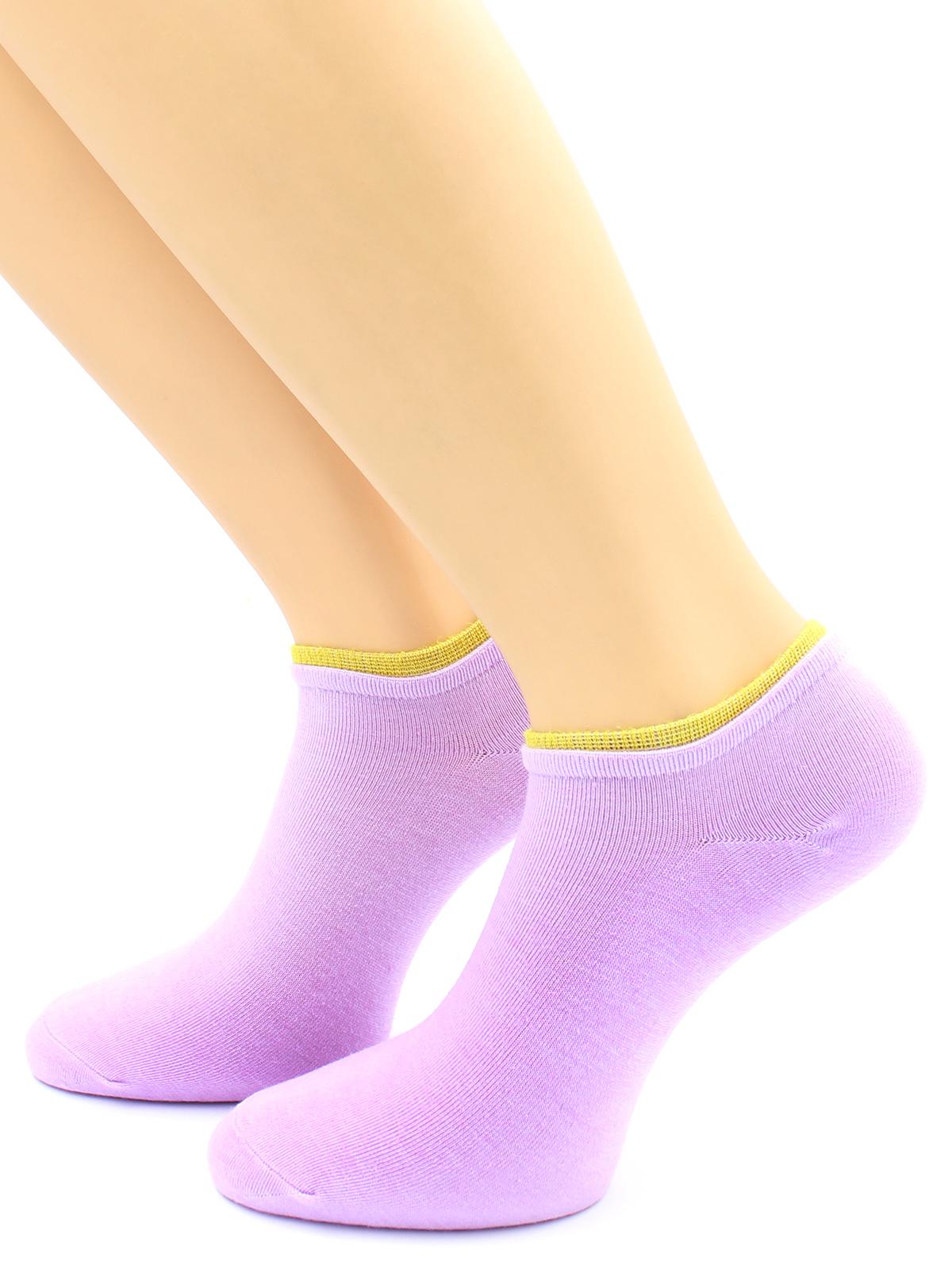 Носки женские Hobby Line фиолетовые 36-40
