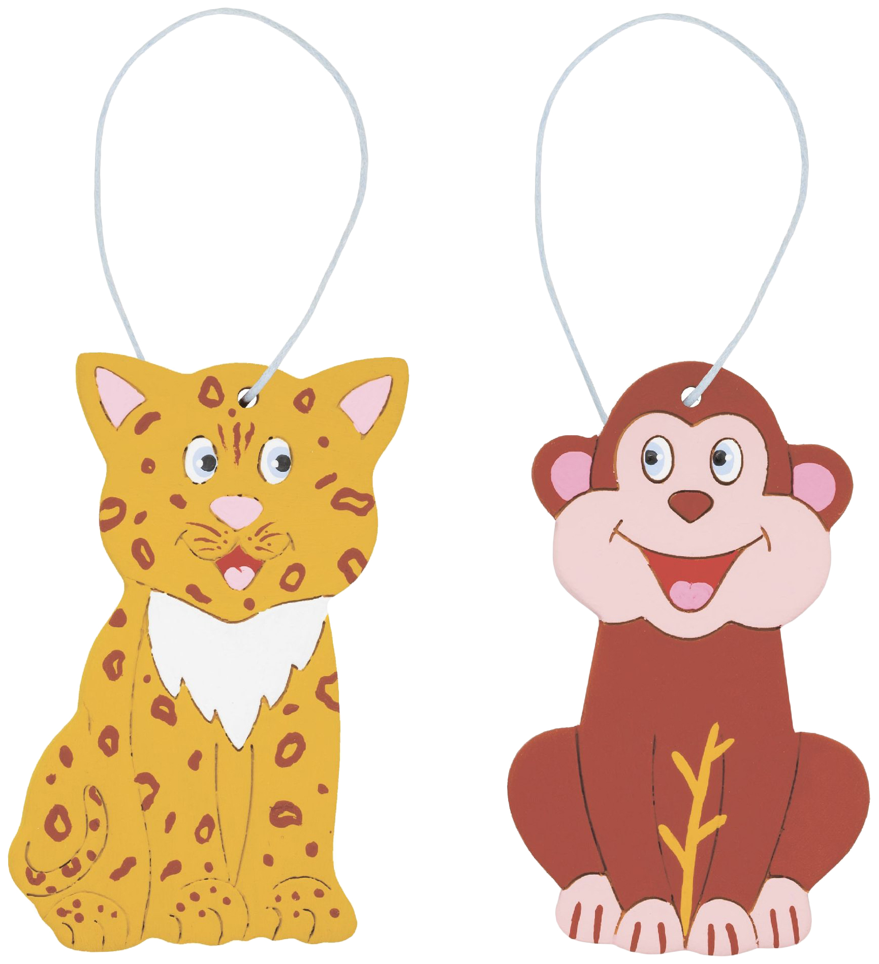 Купить Набор для творчества Чудесные животные Америки - Обезьяна и ягуар Arti, Рукоделие