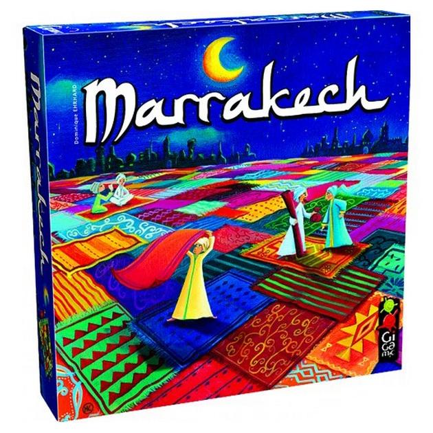 Купить Настольная игра Марракеш (Marrakech), Cтиль Жизни, Семейные настольные игры