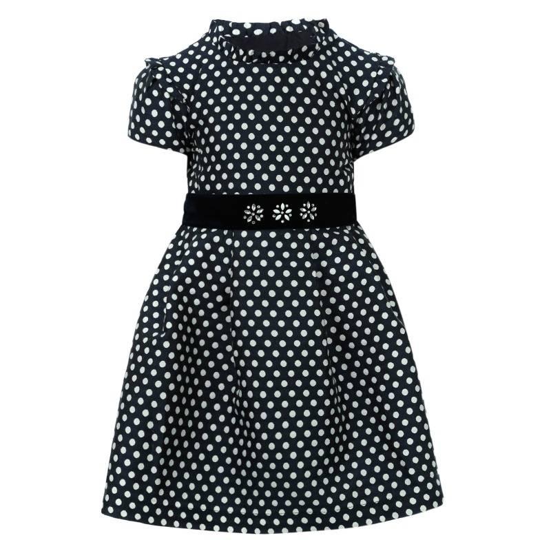 Платье MAYORAL, цв. темно-синий, 104 р-р, Детские платья и сарафаны  - купить со скидкой