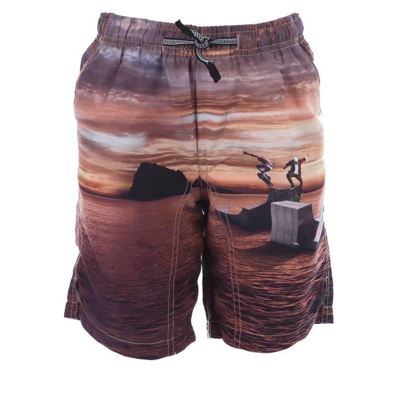 Купить Шорты для плавания Nario Molo, цв. коричневый, 140 р-р, Детские брюки и шорты