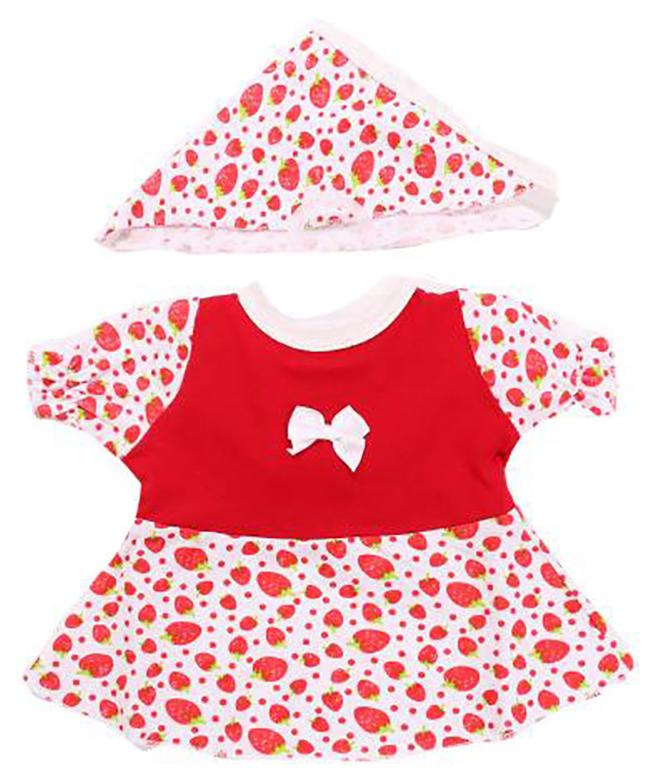 Купить Комплект одежды для кукол Карапуз Платье и косынка 40-42 см, Одежда для кукол