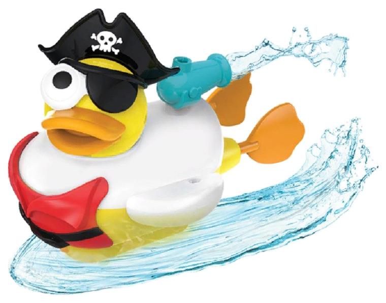 Купить Интерактивная игрушка для купания Yookidoo Водная Утка-Пират Арт. 40170, Игрушки для купания