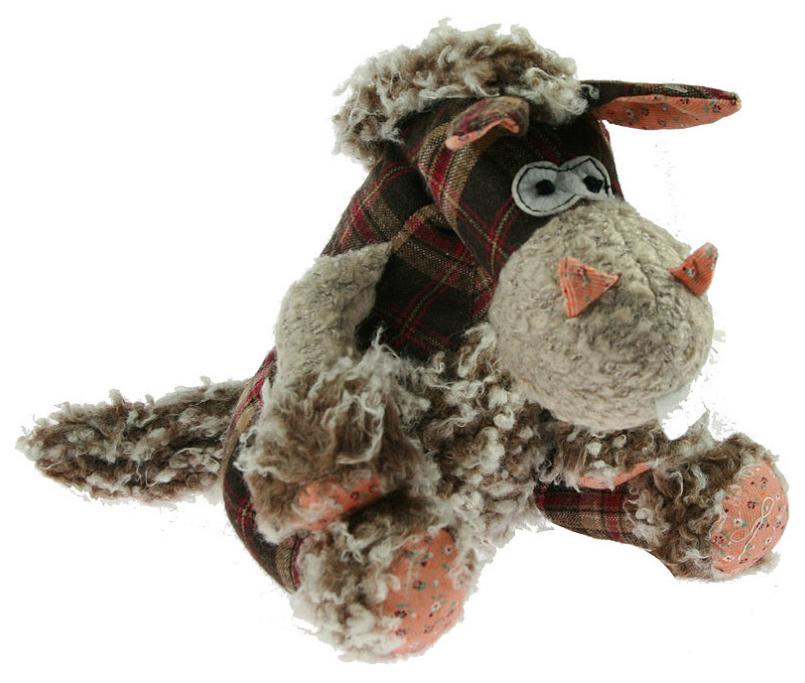 Купить Интерьерная фигурка - мягкая игрушка Лошадка , 27 см, Русские подарки, Мягкие игрушки животные
