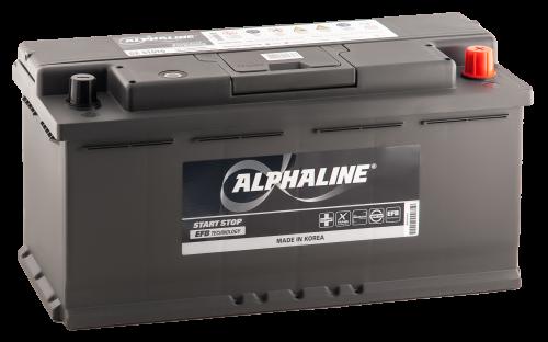 Аккумулятор ALPHALINE EFB 561010 EFB PR 12В 110Ач 950CCA 398x175x190 мм Обратная (-+) фото