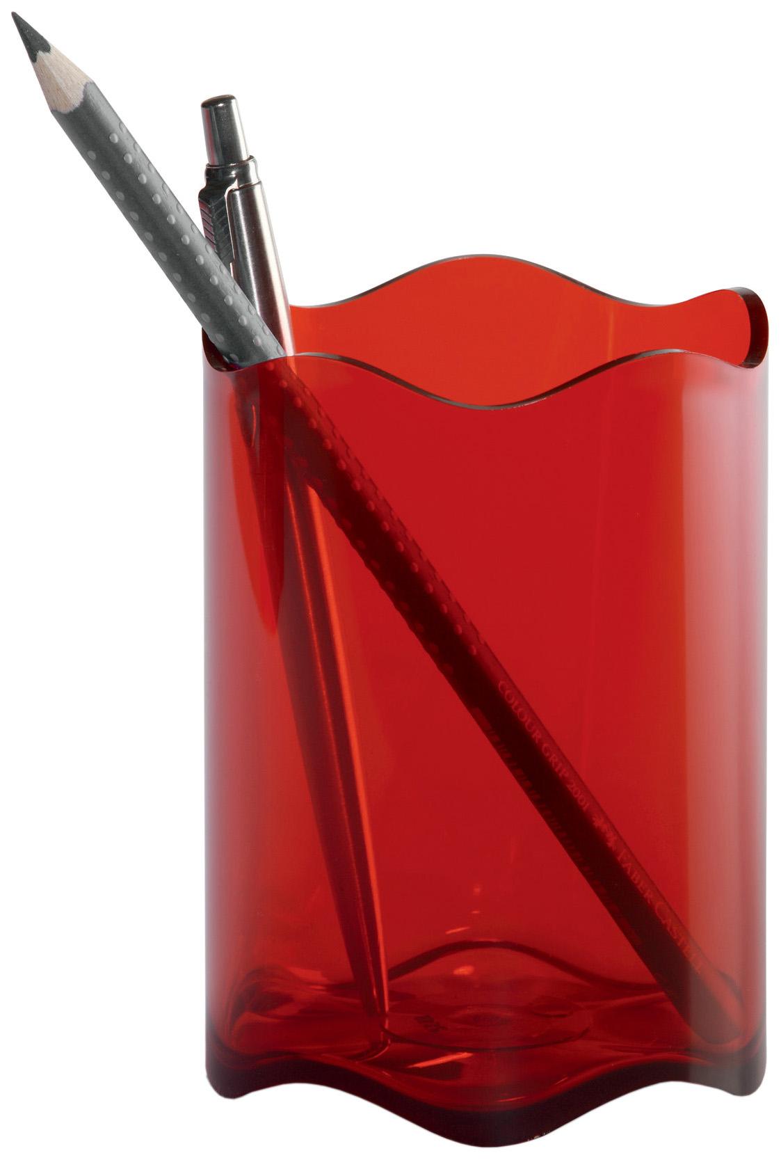 Стакан для пишущих принадлежностей DURABLE TREND 1701235003 Красный