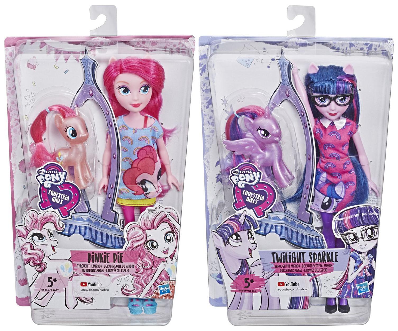 Купить Игровой набор My Little Pony Equestria Girls Пони и кукла Девочки Эквестрии, Hasbro, Игровые наборы