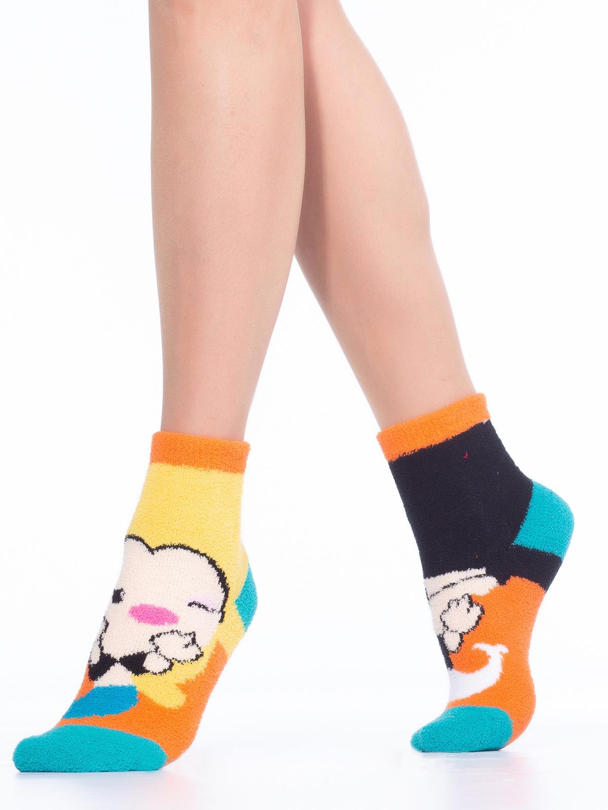 Носки женские Hobby Line разноцветные 36-39