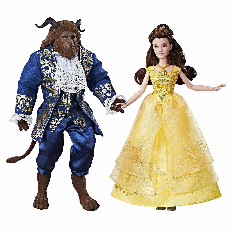 Купить Куклы Disney Princess Белль и Чудовище B9167,