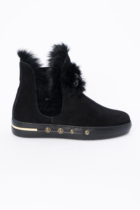 Ботинки женские Baldinini 948003AKILA0000XXRNX черные 36 RU