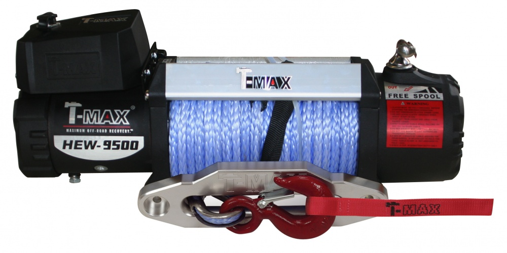 HEW 9500 X Power 12В лебедка электрическая