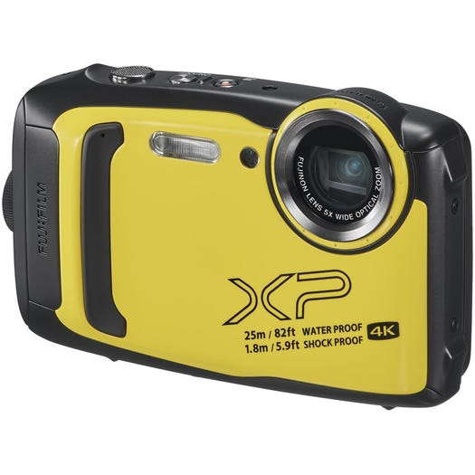 Фотоаппарат цифровой компактный FUJIFILM FinePix XP140 Yellow