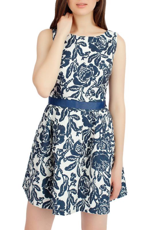 Платье женское SERGINNETTI 5-1873-4211-22 синее 46 RU фото
