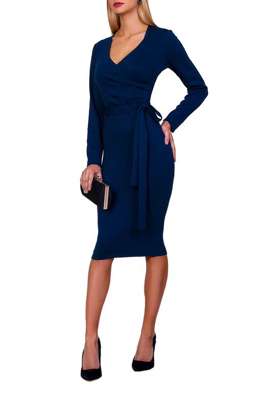 Платье женское FABIEN DE FERANTE 1931 синее 52 RU фото