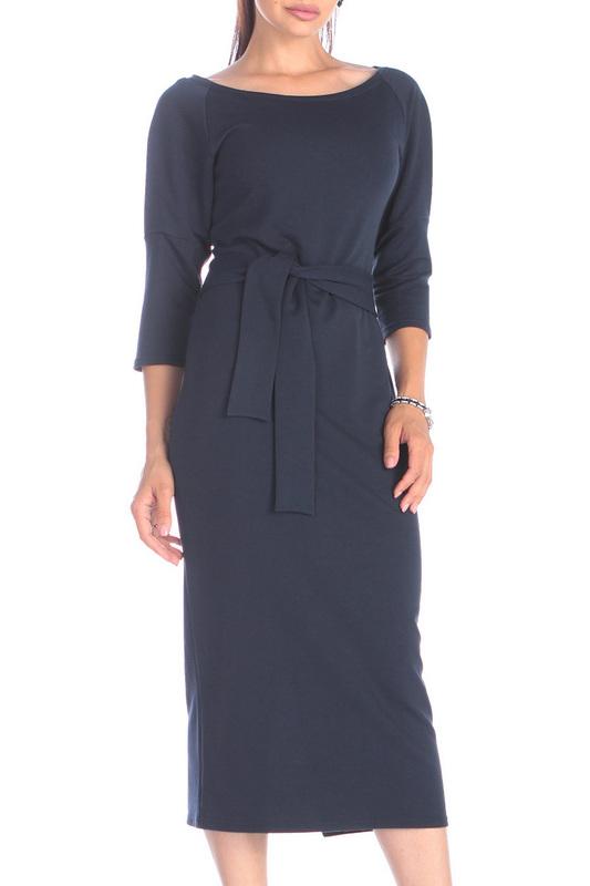 Платье женское Rebecca Tatti RR730_2DV синее XS