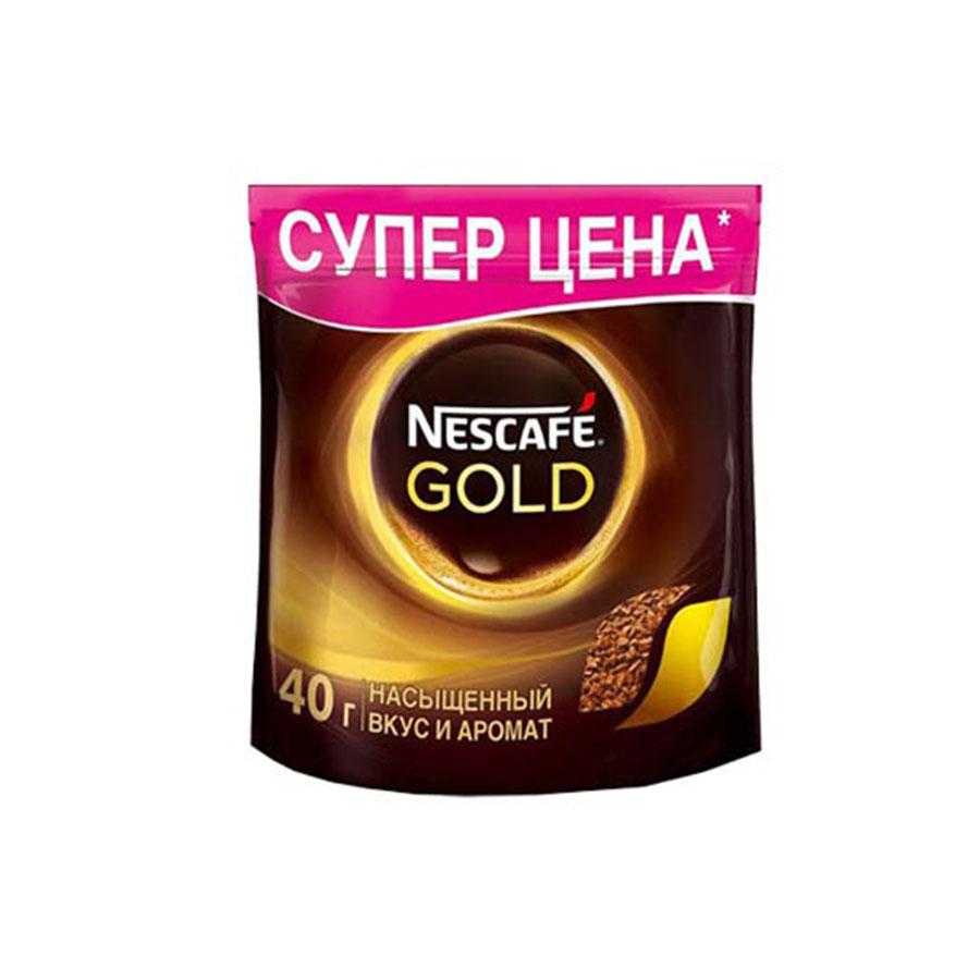 Кофе растворимый Nescafe Gold 40 г фото