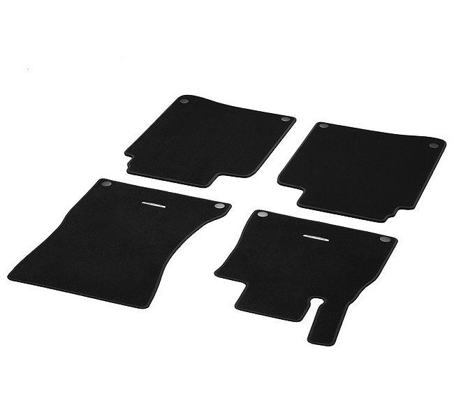 Коврики велюровые черные 4шт x222 MERCEDES-BENZ арт. A2226807102 9F87